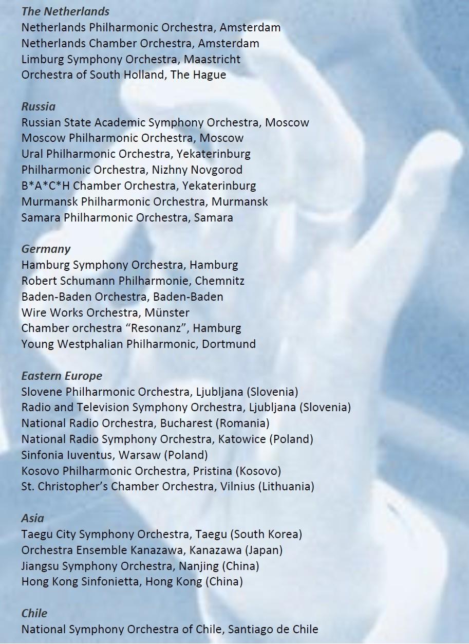 Hand - orchestras