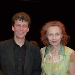 with Kaja Saariaho